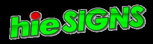HIE Signs Logo