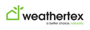 Weathertex logo on white background-1