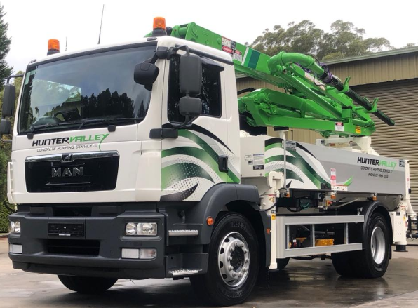 Hunter Valley Concrete Pumping Services