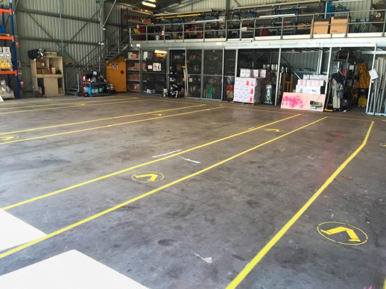 Workshop Linemarking